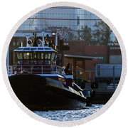 The Vicki M. Mcallister Round Beach Towel