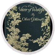 The Victor Of Wakefield Round Beach Towel
