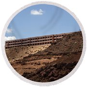 The View Hotel - Monument Valley - Arizona Round Beach Towel