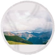The View Round Beach Towel