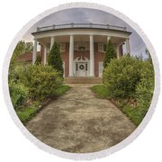 The Ward Mansion - Conway - Arkansas Round Beach Towel
