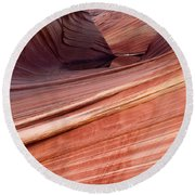 'the Wave' North Coyote Buttes 62 Round Beach Towel