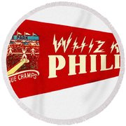 The Whiz Kids Round Beach Towel