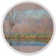 The Willow Round Beach Towel