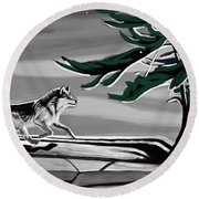 The Wind Round Beach Towel