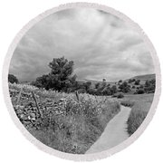 The Yorkshire Dales Uk Round Beach Towel