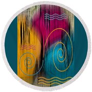 Theater Round Beach Towel