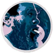Thelonius Monk Round Beach Towel