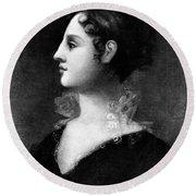 Theodosia Burr Alston (1783-1813) Round Beach Towel