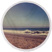 They Were Sweet Sweet Dreams Round Beach Towel by Laurie Search