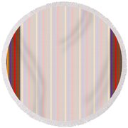 Think Creative  Elegant Border Pattern Novino Stripes For Downloads Diy Projectstemplate Round Beach Towel