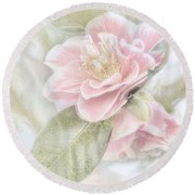 Think Pink Round Beach Towel