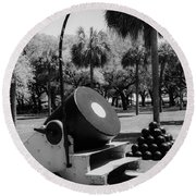 Thirteen Inch Mortar Round Beach Towel