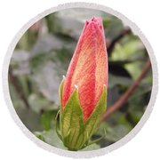 This Bud For You Round Beach Towel