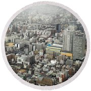 This Is Tokyo Round Beach Towel