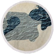This Night Round Beach Towel