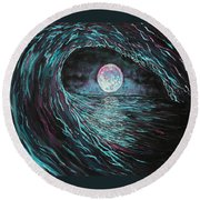 This Time Imperfect Round Beach Towel