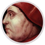 Thomas Wolsey (c1475-1530) Round Beach Towel