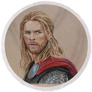 Thor Round Beach Towel