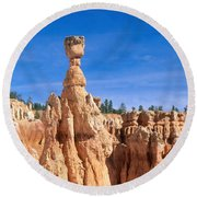 Thors Hammer, Bryce Canyon Round Beach Towel
