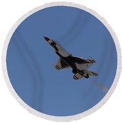 Thunderbird Slow Flight Round Beach Towel