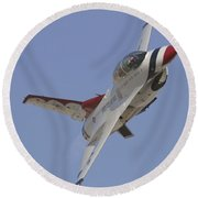 Thunderbird Sneak Pass Round Beach Towel
