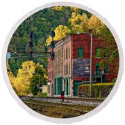 Thurmond Wv Round Beach Towel