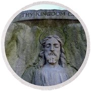 Thy Kingdom Come Round Beach Towel