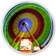 Tickets To Fun Round Beach Towel