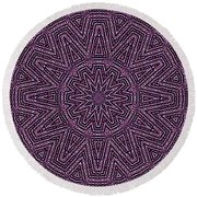 Tile Mosaic-142 Round Beach Towel