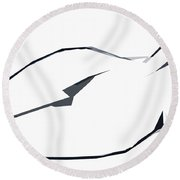 Till Afternoon Round Beach Towel