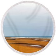 Time Changes All Round Beach Towel