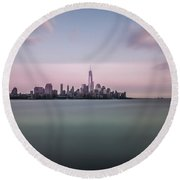 Time Moves Round Beach Towel
