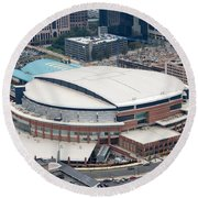 Time Warner Cable Arena Round Beach Towel
