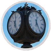 Timed  Round Beach Towel
