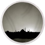 Timeless Istanbul Round Beach Towel