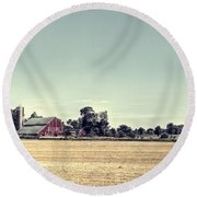 Times Gone By Round Beach Towel