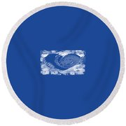 Tingles Round Beach Towel