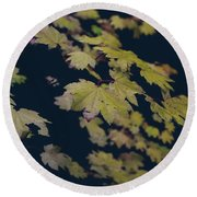 To Have You Near Round Beach Towel by Laurie Search