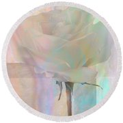To The Rose Round Beach Towel
