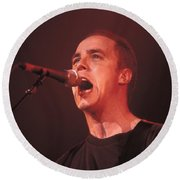 Toad The Wet Sprocket - Glen Phillips Round Beach Towel