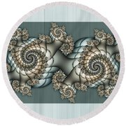 Together 2 Round Beach Towel
