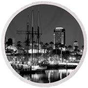 Tole Mour Round Beach Towel