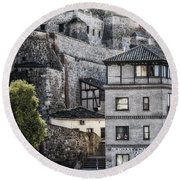 Toledo Hillside Round Beach Towel