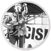 Tom Robinson Band Round Beach Towel