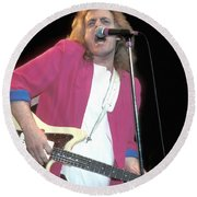 Tommy James Round Beach Towel