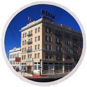 Tonopah Nevada - Mizpah Hotel Round Beach Towel