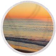 Topsail Mist 2 Round Beach Towel