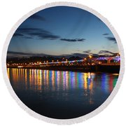 Torbay Nights Round Beach Towel