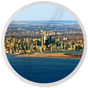 Toronto 2 Round Beach Towel
